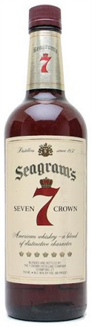 Seagram Seven Crown Blended Whiskey